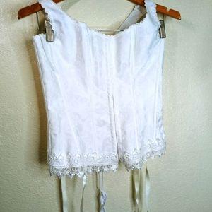 Fredericks of Hollywood corset.